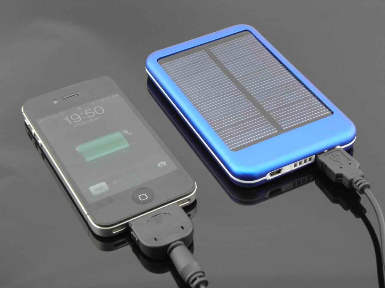 充电好帮手-太阳能移动电源